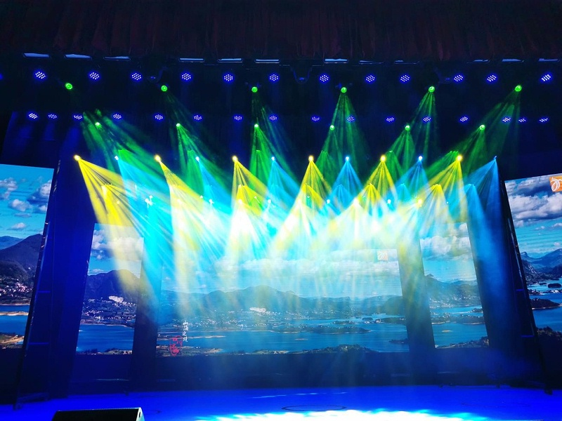 自贡专业多功能厅舞台灯光音响工程