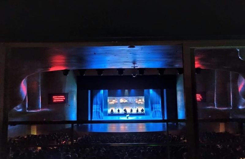 四川大剧院LED屏搭建