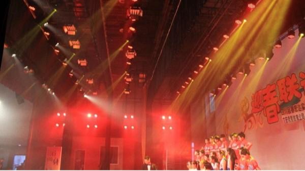 广安实验学校多功能厅舞台灯光音响