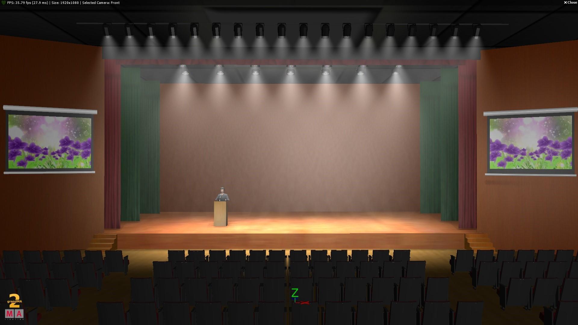 内江多功能厅学术报告厅会议室音响方案设计