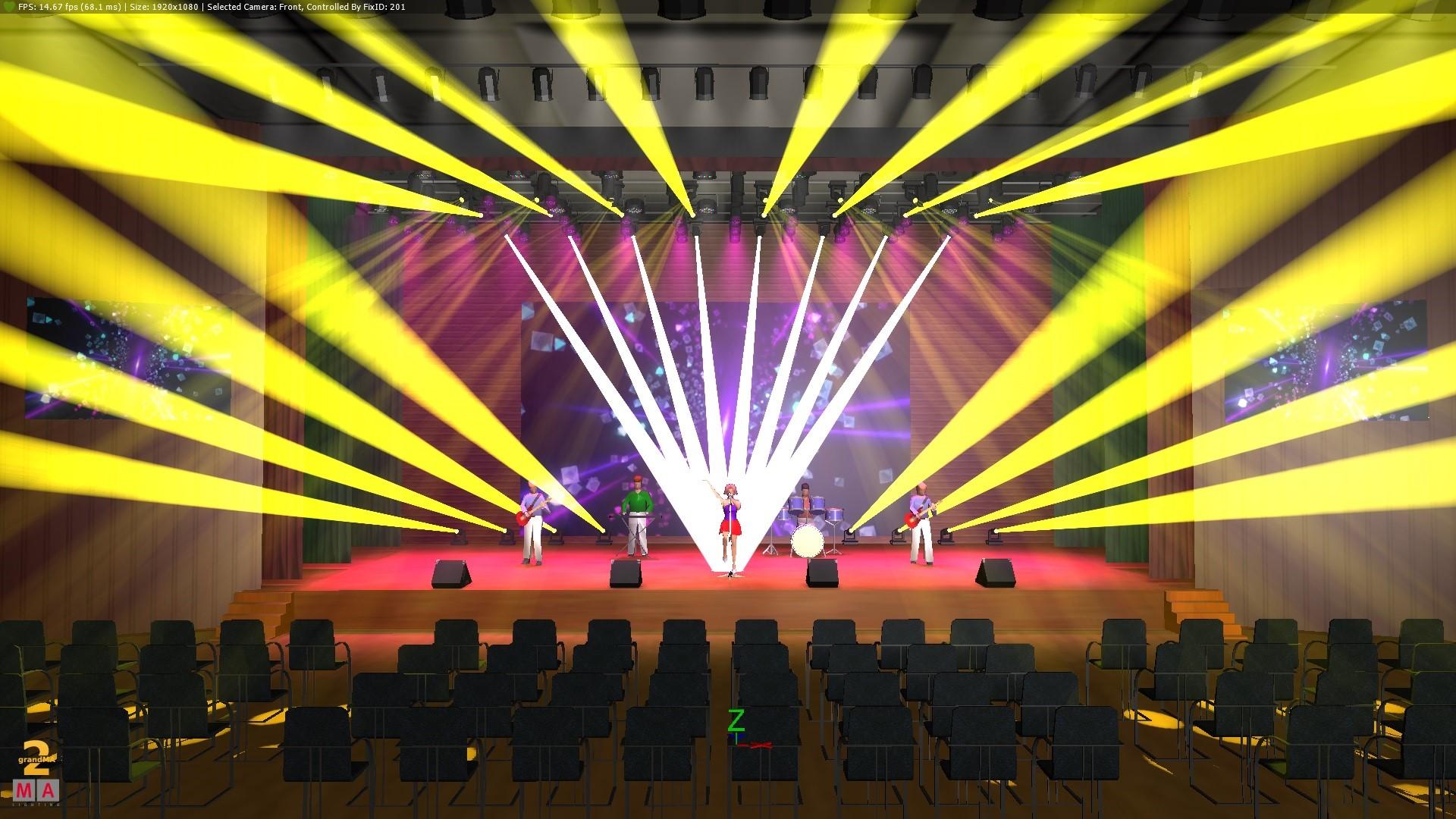 在内江宴会厅多功能厅及剧场的舞台灯光应该怎么设计