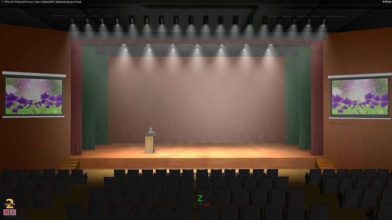 内江会议室音响设计