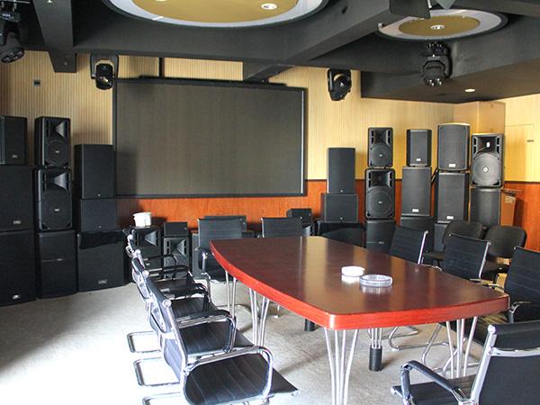 视频音响会议室