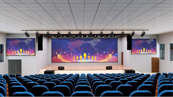 喜讯!鹰皇科技中标灯光音响及LED显示屏项目110万大单