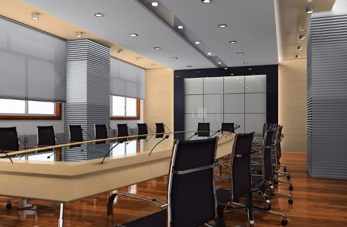 中小型会议室用一拖四无线会议话筒更省钱!