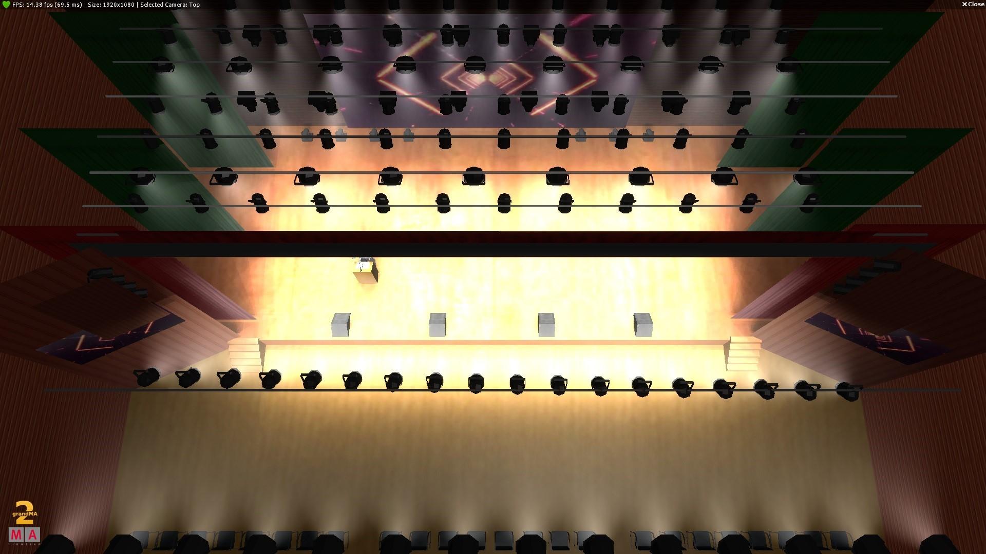 泸州宴会厅多功能厅舞台灯光音响工程设计【要点】