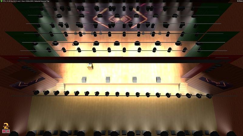 泸州舞台灯光设计图