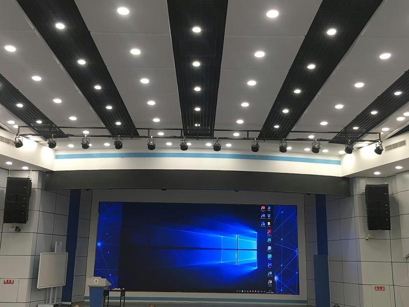 音王线阵音箱助力四川大学汇文楼演播厅专业音响