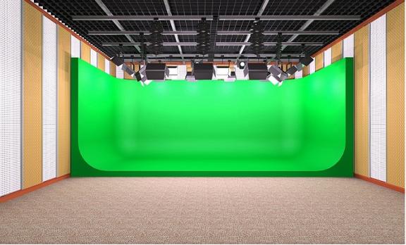 打造高清直播间绿箱装修施工要求、装修材料有哪些?