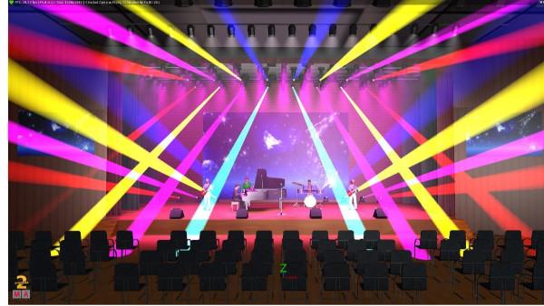南充免费的舞台灯光及专业音响设计福利来了
