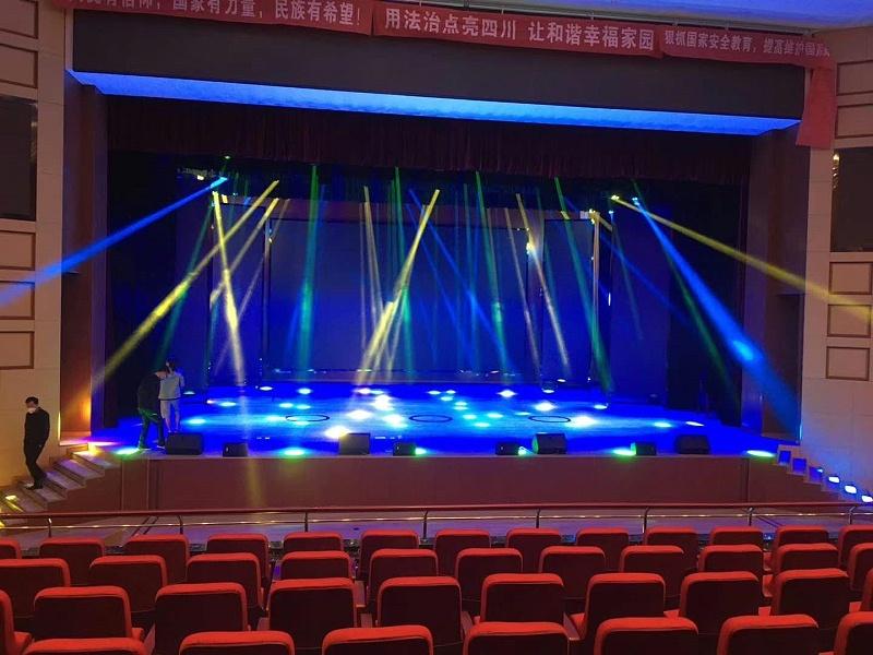 分享:射洪报告厅舞台灯光系统设计前瞻