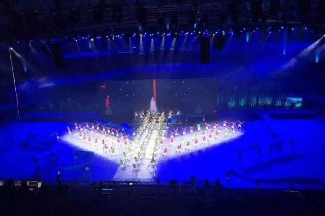 定点定量,没有多余的光,减少舞台光污染