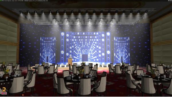 福利来了!内江宴会厅灯光音响设计方案免费分享