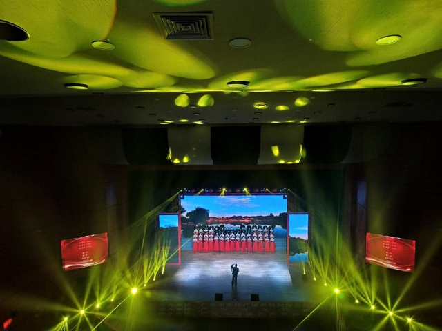 舞台灯光音响LED显示屏及会场布置