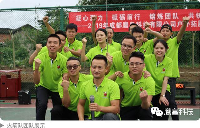 2019年成都鹰皇科技有限公司户外拓展活动