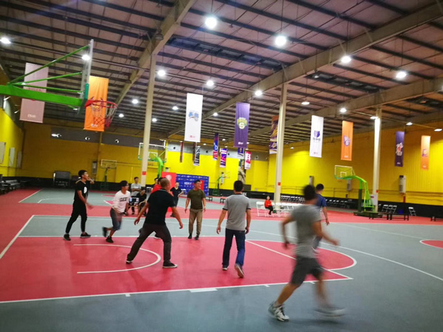 成都鹰皇科技2017首届篮球赛