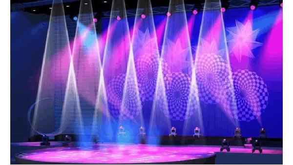 成都宴会厅舞台灯光的基础布局
