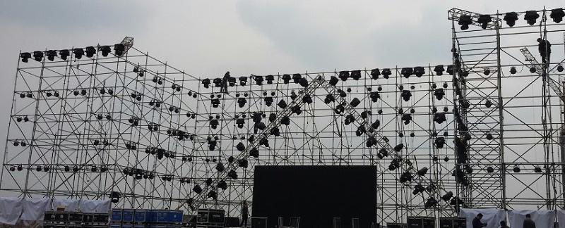 户外演出时舞台搭建注意哪些用电安全