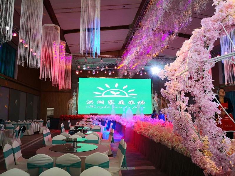 婚礼灯光音响LED显示屏