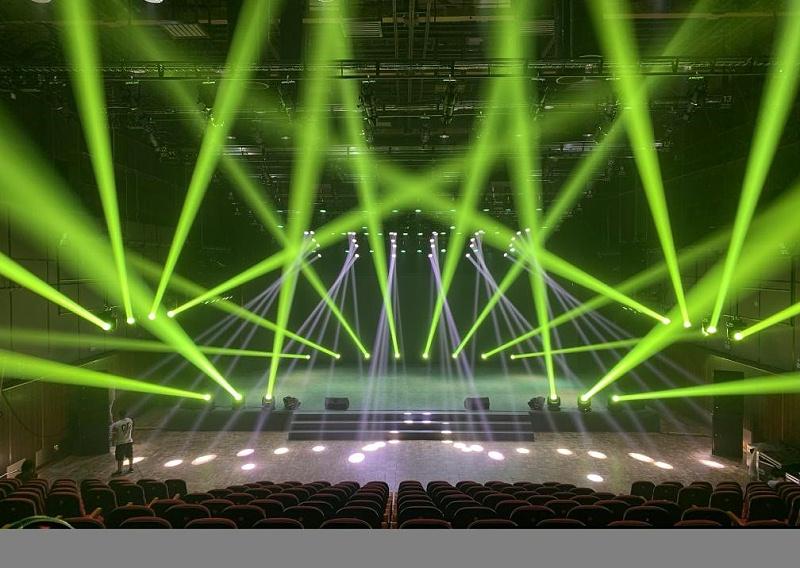 剧场灯光音响LED屏应用案例