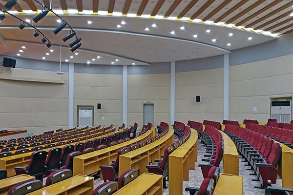 成都印钞有限公司多功能厅舞台扩声、灯光系统及会议系统改造项目