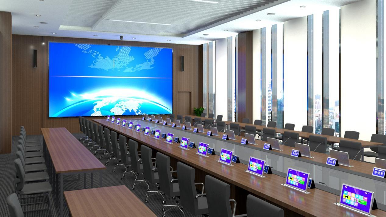 投影机与LED显示屏在会议室的优势