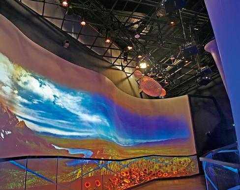 鹰皇科技剖析未来LED大屏显示行业趋势