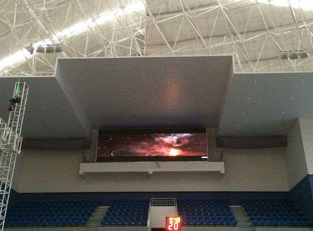名山体育馆LED显示屏