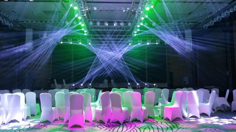 大会舞台灯光设计