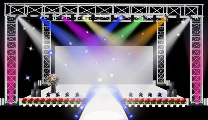 宴会厅舞台灯光吊挂升降系统与其他控制系统融合
