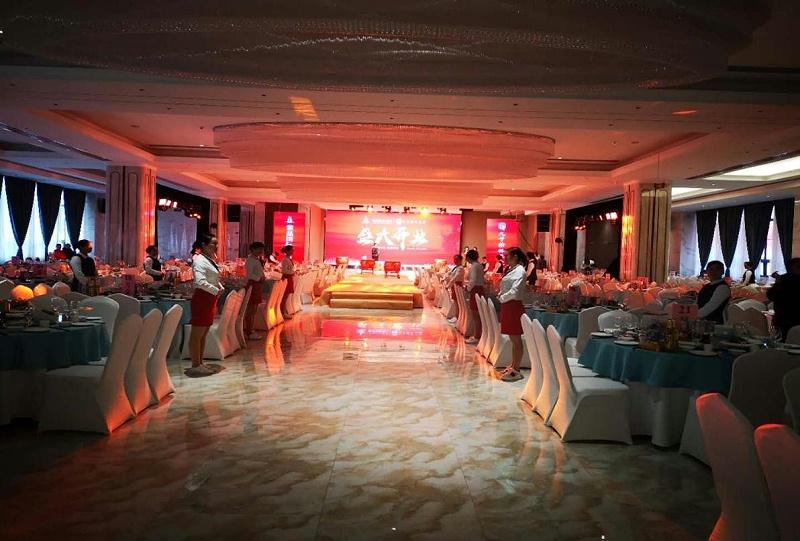 最新潮婚礼堂灯光音响LED屏设备