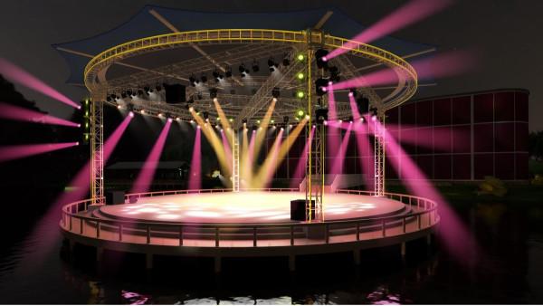 鹰皇科技-成都专业舞台灯光音响设计公司